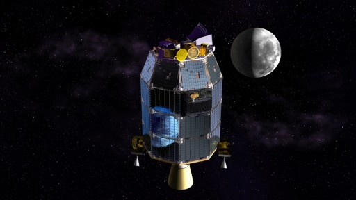 LADEE Spacecraft - Image: NASA Ames