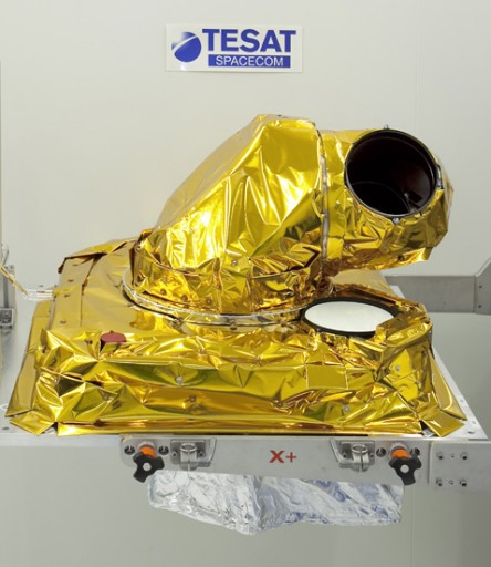 Laser Communications Terminal - Photo: Tesat/Astrium