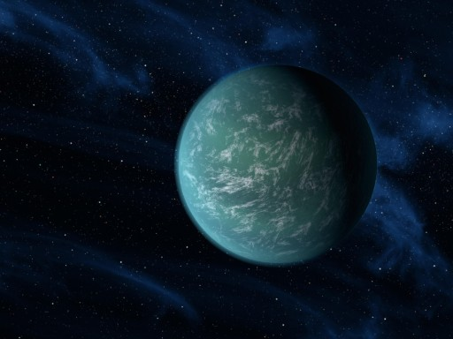 Kepler 22b Artwork - Image: NASA