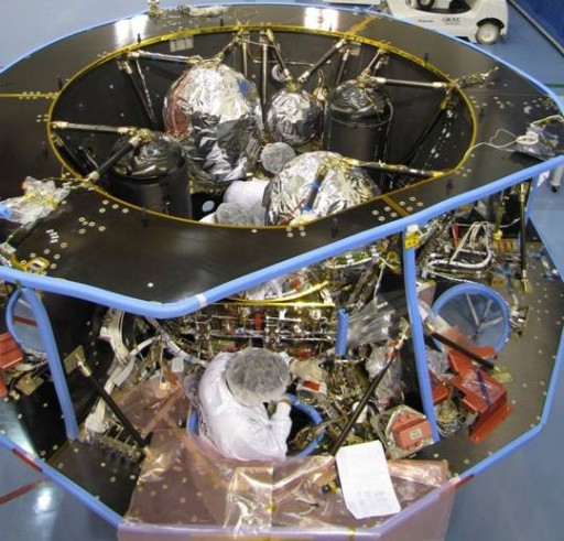 Service Module Integration - Photo: EADS