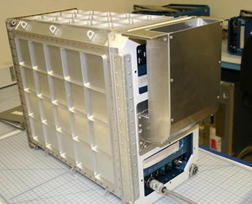 Transporter with air vent - Image: NASA