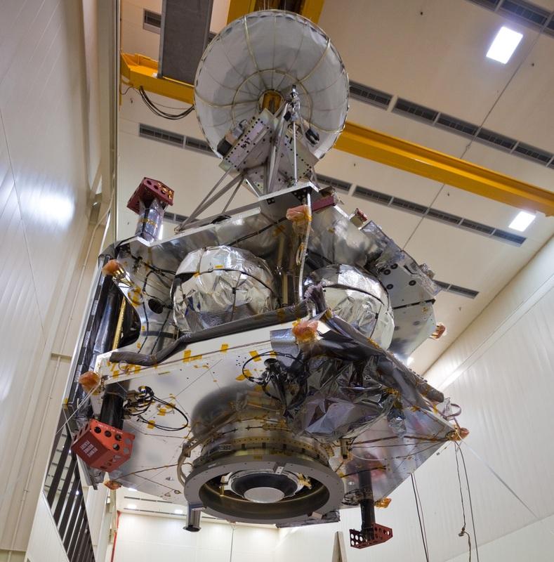 A look at Juno's business end - Leros 1b - Photo: NASA/JPL