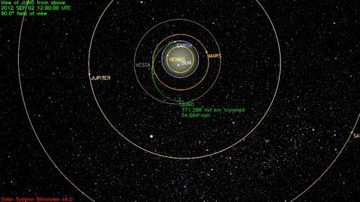 Image: NASA - JPL Solar System Simulator