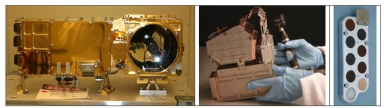 ChemCam Hardware Components - Photo: NASA JPL / LANL