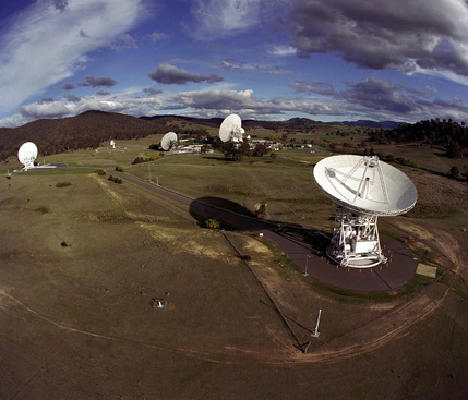 Canberra DSN - Credit: NASA