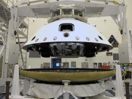 MSL - Aeroshell Configuration - Photo: NASA - JPL