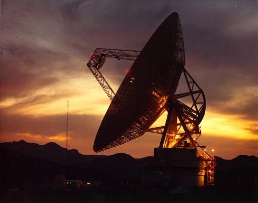 Deep Space Network Station Goldstone, California - Photo: NASA