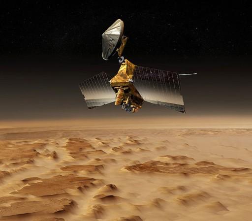 Mars Reconnaissance Orbiter - Image: NASA - JPL