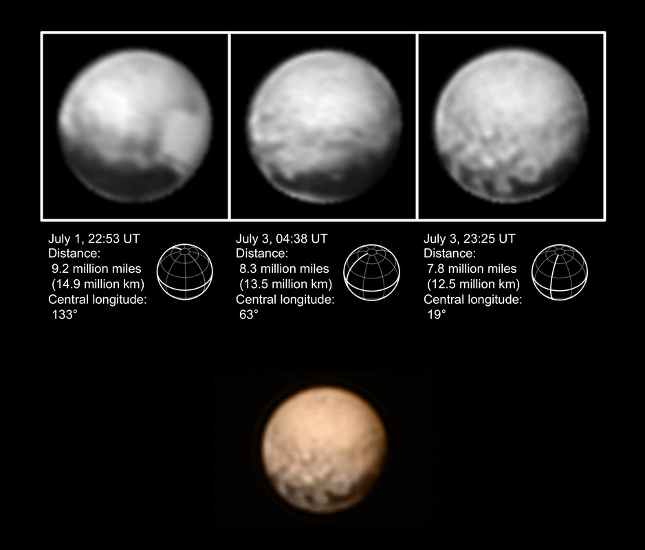 New Horizons Approach Imagery - Image: NASA/JHU APL/SwRI