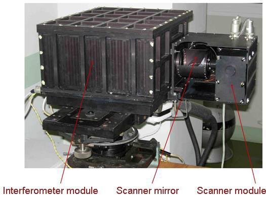 Image: Roshydromet/Planeta IRFS-2 Instrument