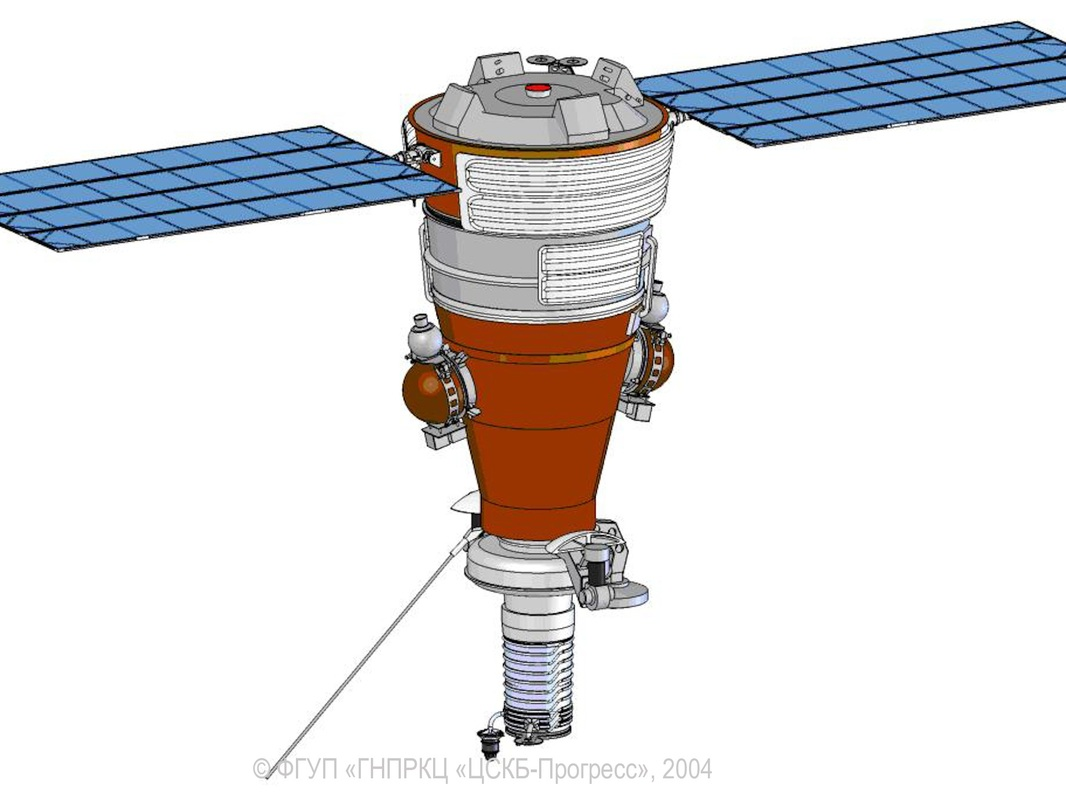 Image: TsSKB Progress Yantar Film-Return Satellite