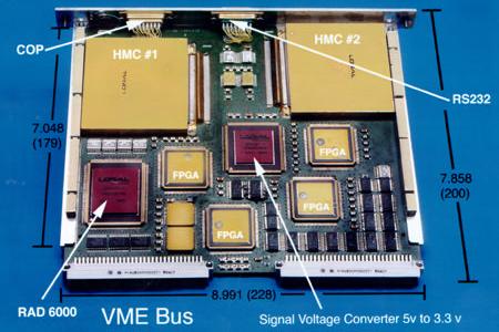 Spacecraft Controller centered around RAD-6000 (MER) - Image: Lockheed Martin/BAE