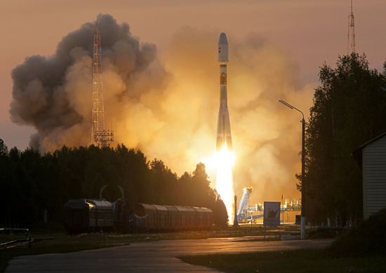 Photo: Russian Ministry of Defence Persona #2 Lifts Off