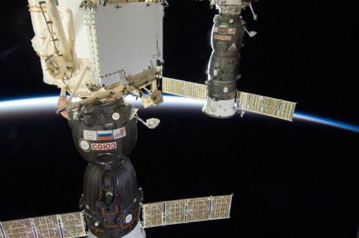 Soyuz & Progress - Photo: NASA