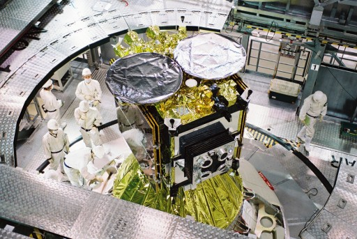 X- and Ka-Band Antenna - Photo: JAXA
