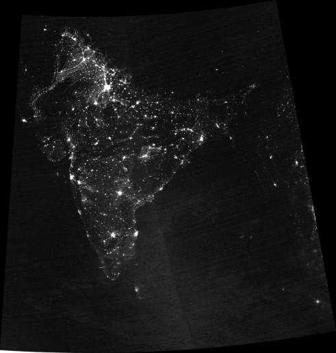 DMSP OLS Image - Image: NASA/NOAA