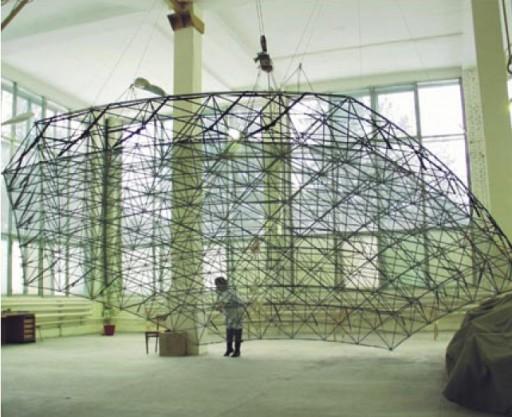 SAR Antenna - Photo: NPO Mash