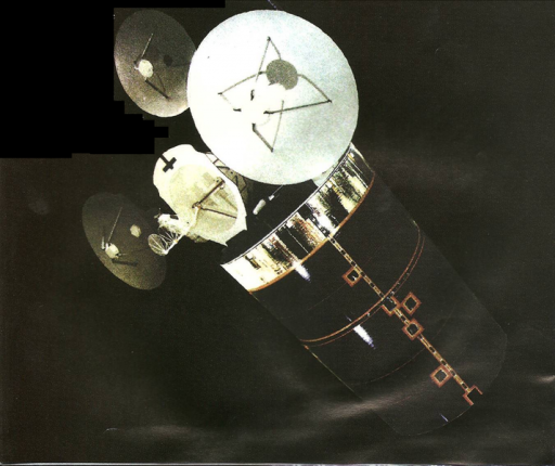 Declassified Image of Early SDS Satellite - Photo: National Reconnaissance Office