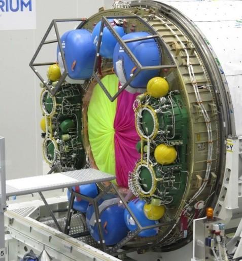 ATV Water & Gas Tanks (ESM similar) - Photo: ESA