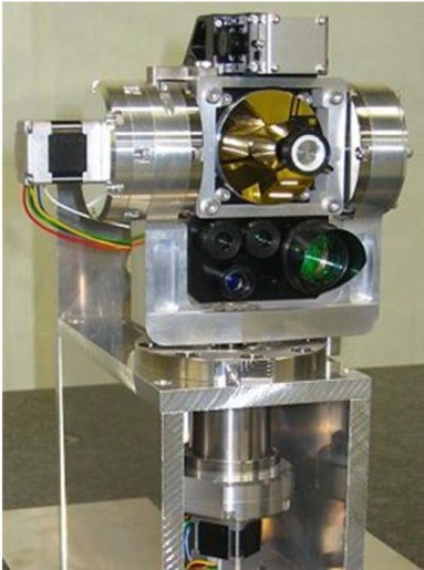 Photo: NCIT Picture Photo: NCIT Proto-Flight Model of SOTA's Optical Unit and Electronics Box