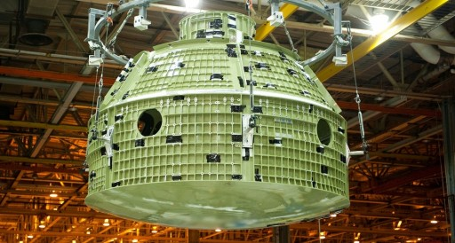Orion Crew Module Pressure Vessel - Photo: NASA/LM