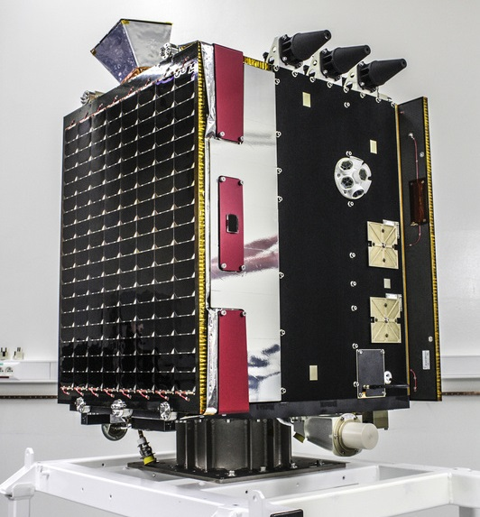 Fully integrated Proba V Satellite - Photo: QinetiQ Space