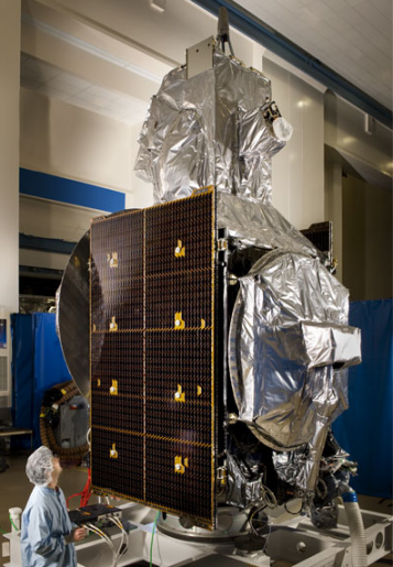 PAN Satellite - Photo: Lockheed Martin