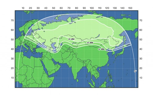 C-Band Fixed Beam - Image: Russian Satellite Communications Company