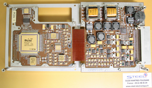 Power Control & Distribution Board - Photo: CNES/DLR