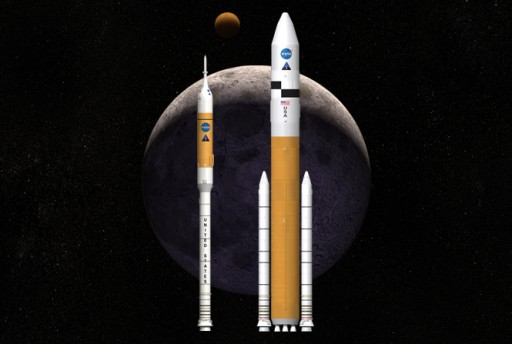Ares I & V Launch Vehicles - Image: NASA