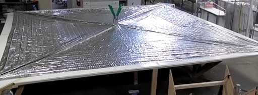 Deployed LightSail - Photo: The Planetary Society