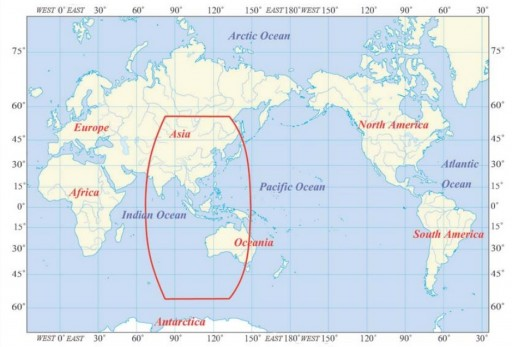 Asia-Pacific Regional Coverage - Image: CSNPC