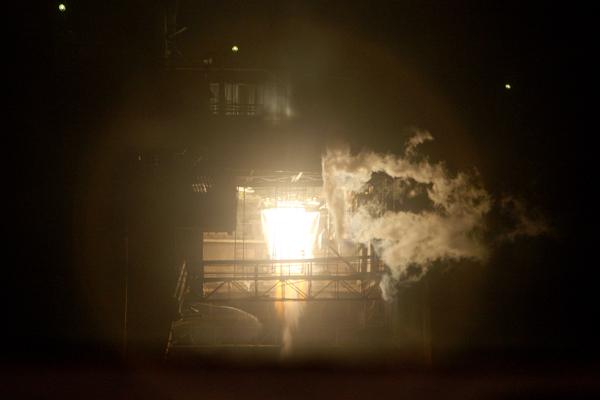 RD-0124 Test Firing - Photo: Khrunichev