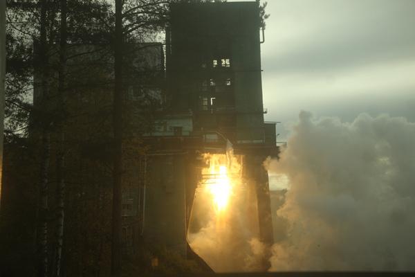 RD-191 Test Firing  - Photo: Khrunichev