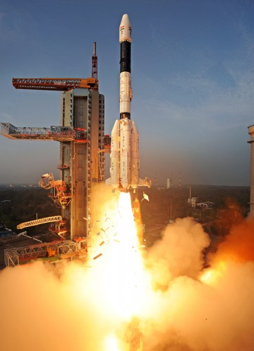 GSLV Mk. II - Photo: Indian Space Research Organization