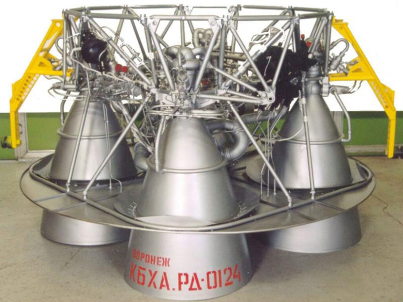 RD-0124 Engine - Photo: KBKhA