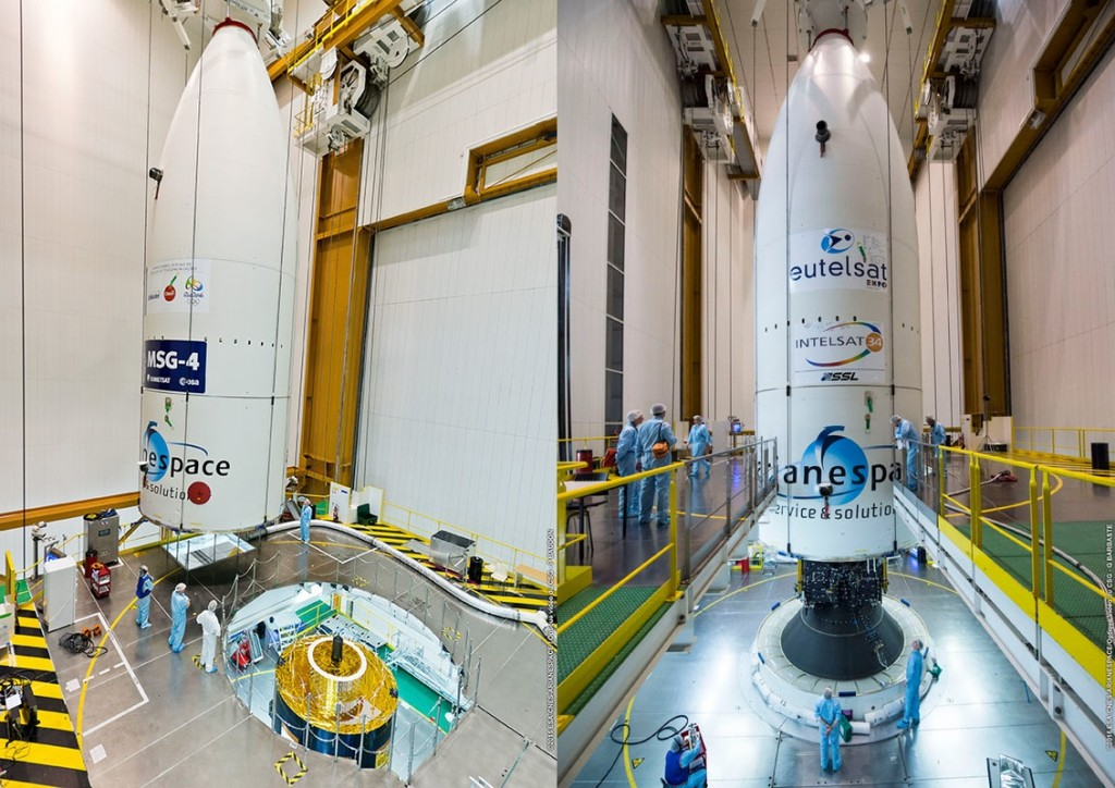 Photos: Arianespace/ESA/CNES