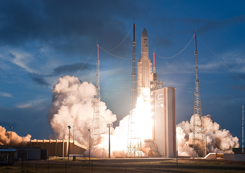 Photo: ESA/Arianespace/CNES