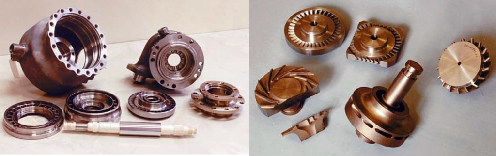 RD-0146 Turbopump Components - Photo: KBKhA